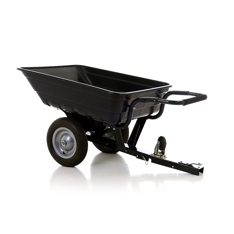 Remorque brouette benne basculante ou non hayon amovible ou non pour tracteur tondeuse - Mini tracteur tondeuse ...