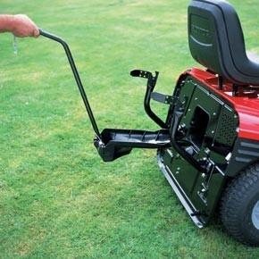 Kit mulching pour tracteur tondeuse autoport e - Remorque de jardin pour autoportee ...
