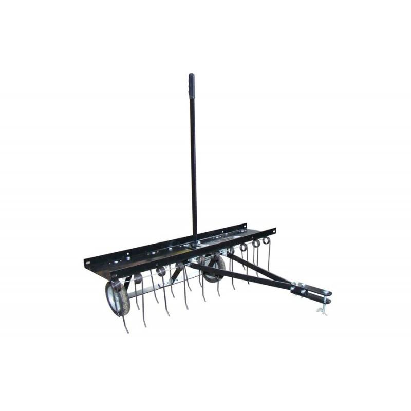 scarificateur tra n ou lectrique a rateur d mousseur emousseur pour mini tracteur tondeuse. Black Bedroom Furniture Sets. Home Design Ideas