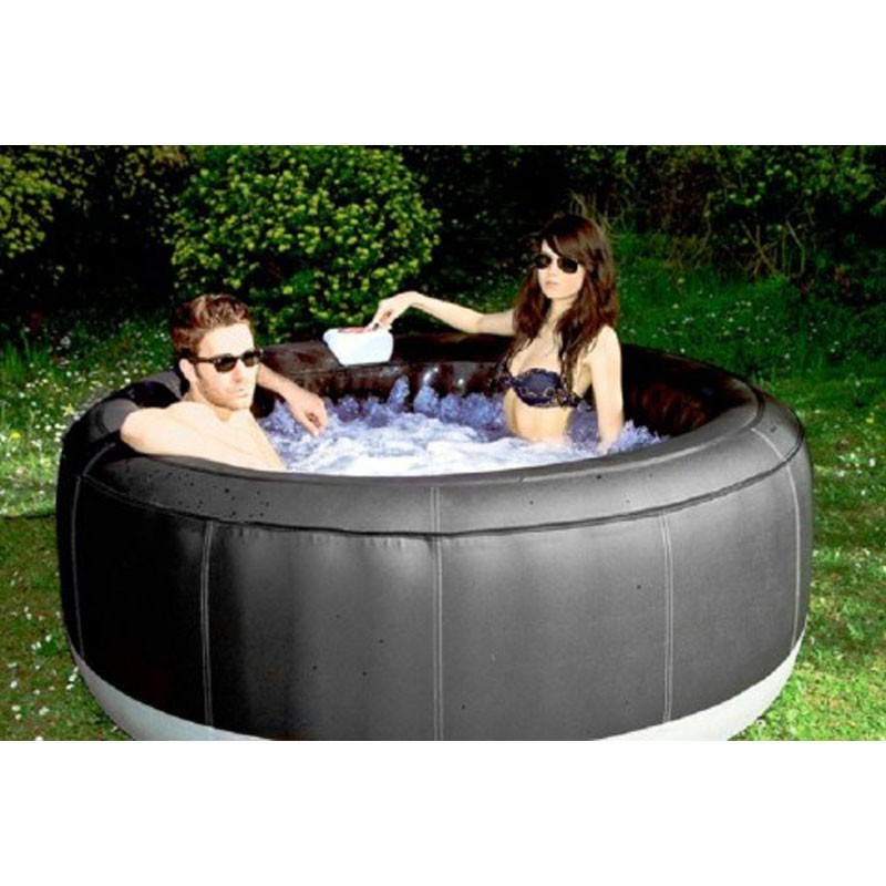 jacuzzi spa gonflable family luxe 6 places pictures. Black Bedroom Furniture Sets. Home Design Ideas